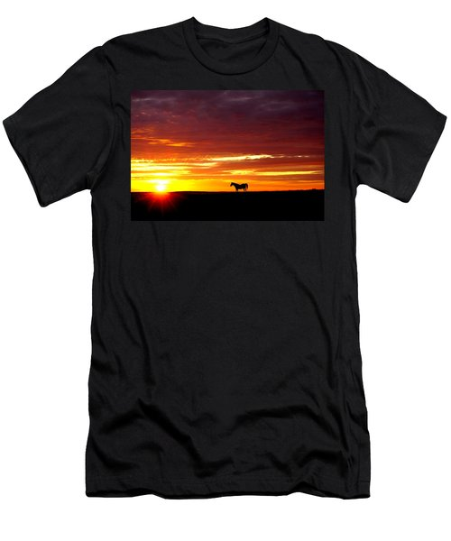 Sunset Watcher Men's T-Shirt (Athletic Fit)