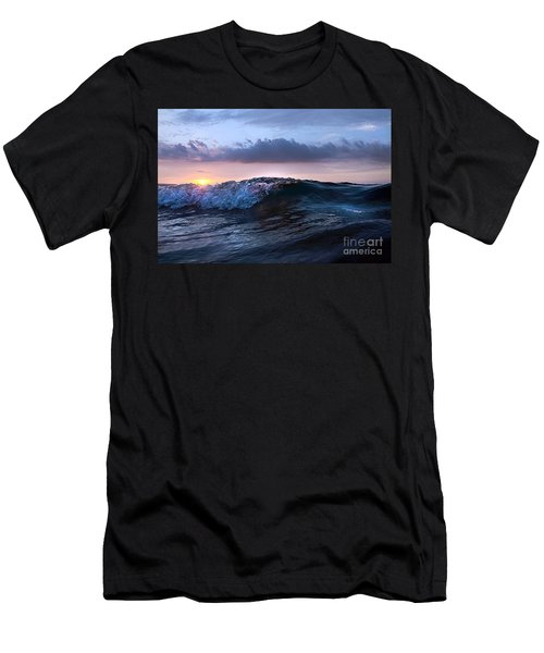 Sunset Wave-wards Beach Men's T-Shirt (Athletic Fit)