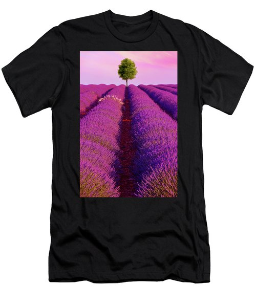 Sunsets Are Purple Men's T-Shirt (Athletic Fit)