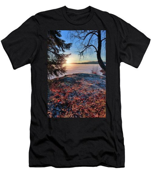 Sunsets Creates Magic Men's T-Shirt (Athletic Fit)