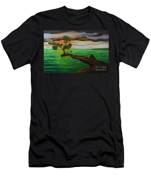 Sunsetting Men's T-Shirt (Athletic Fit)