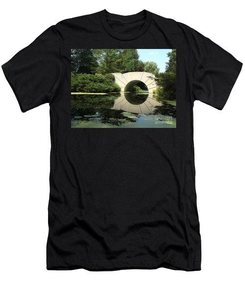 Sunshine Bridge 5 Men's T-Shirt (Slim Fit) by Erick Schmidt