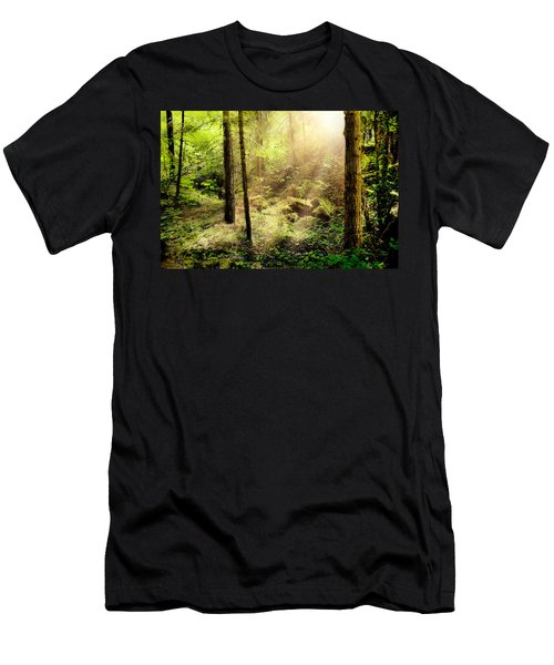 Sunshine From Above Men's T-Shirt (Athletic Fit)
