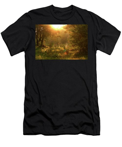 Sunshine In The Meadow Men's T-Shirt (Athletic Fit)