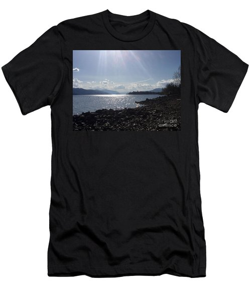 Men's T-Shirt (Athletic Fit) featuring the photograph Sunshine On The Water by Victor K
