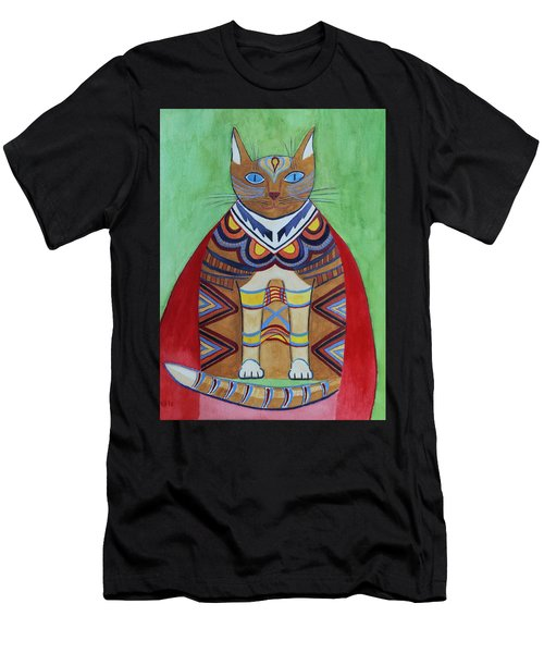 Super Cat Men's T-Shirt (Athletic Fit)