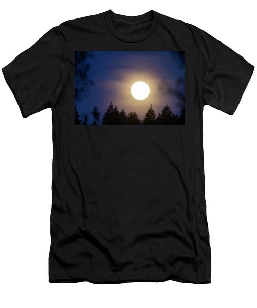 Super Full Moon Men's T-Shirt (Athletic Fit)