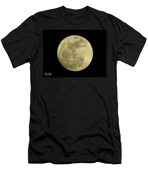 Super Moon March 19 2011 Men's T-Shirt (Athletic Fit)