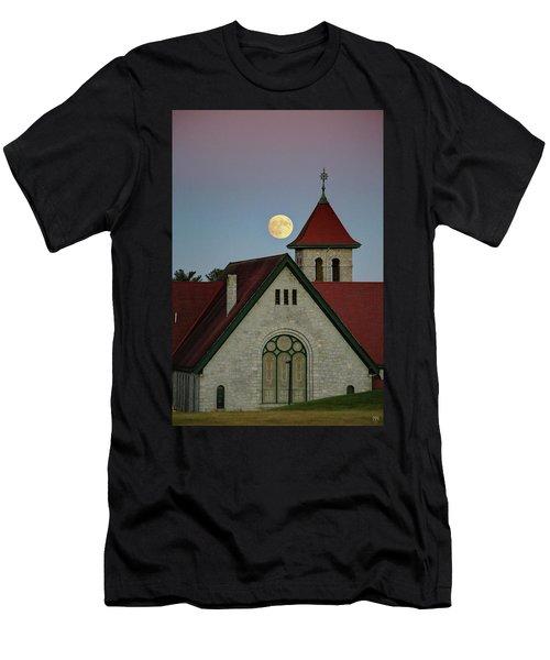 Super Moon Rising Men's T-Shirt (Slim Fit)