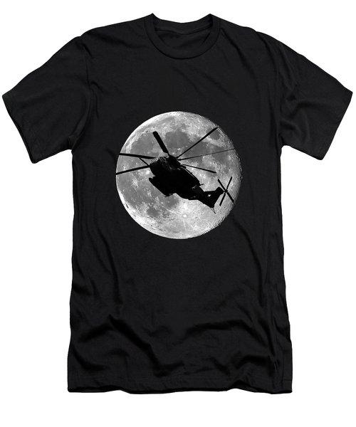 Super Stallion Silhouette .png Men's T-Shirt (Athletic Fit)