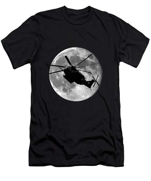 Super Stallion Silhouette .png Men's T-Shirt (Slim Fit)