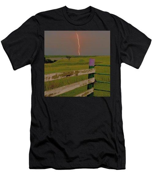 Superbolt At Melvern Lake Men's T-Shirt (Athletic Fit)