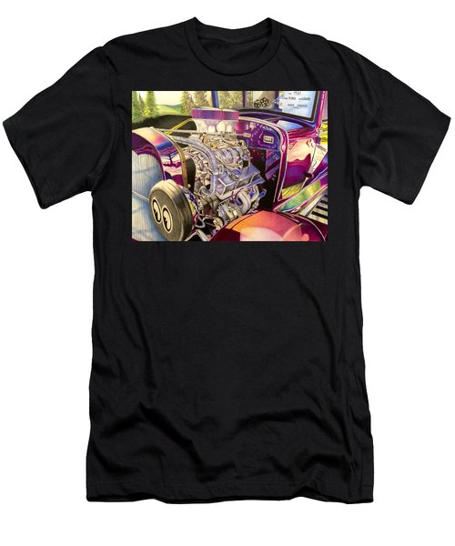 Supercharged Antique 1931 Ford Coupe  Men's T-Shirt (Athletic Fit)