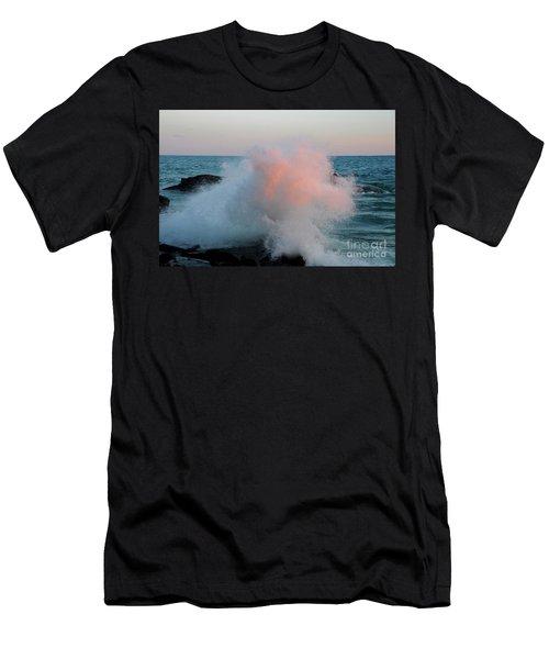 Superior Sundown Splash Men's T-Shirt (Athletic Fit)