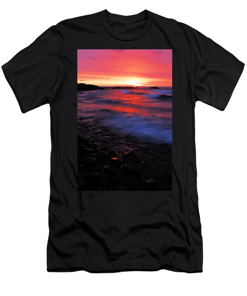 Superior Sunrise Men's T-Shirt (Slim Fit) by Larry Ricker
