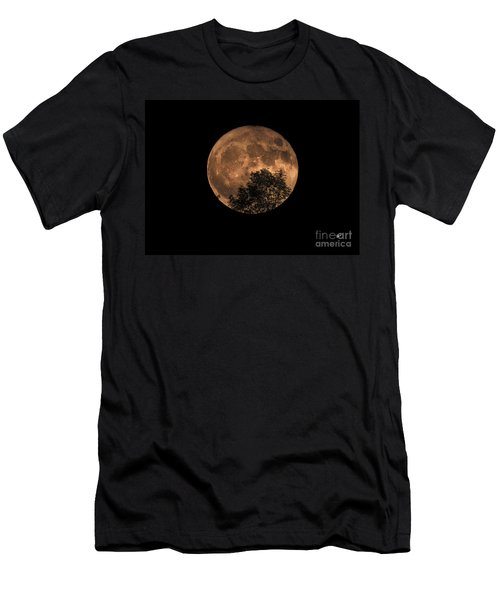 Supermoon Rising Men's T-Shirt (Athletic Fit)