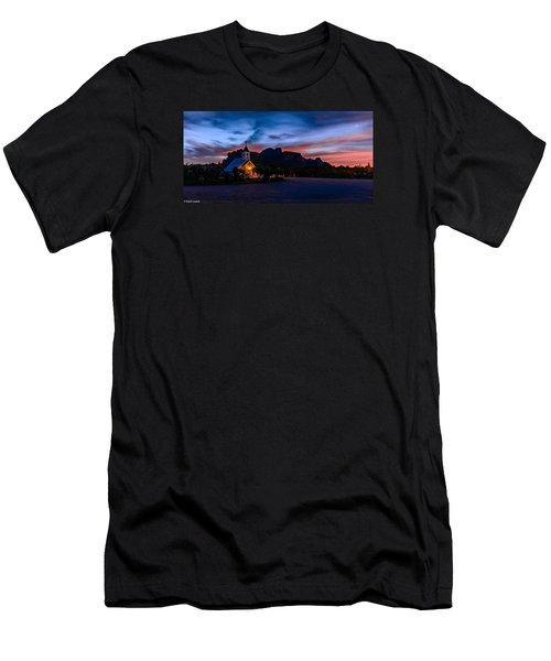Superstition Sunrise Men's T-Shirt (Athletic Fit)