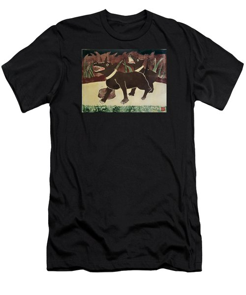 Suppertime Men's T-Shirt (Athletic Fit)