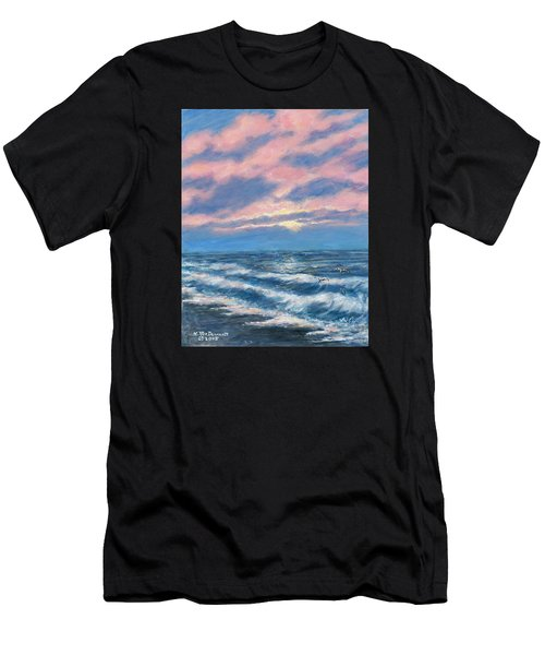 Surf And Clouds Men's T-Shirt (Athletic Fit)