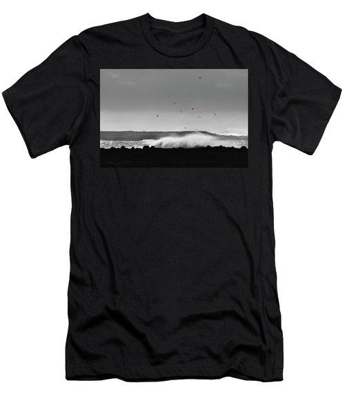 Surf Birds Men's T-Shirt (Athletic Fit)