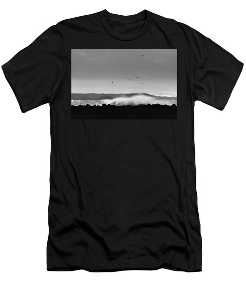 Surf Birds Men's T-Shirt (Athletic Fit)