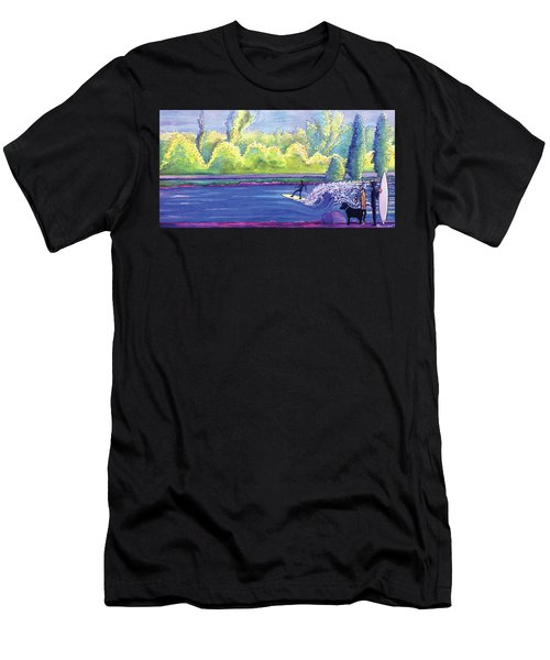 Surf Colorado Men's T-Shirt (Athletic Fit)