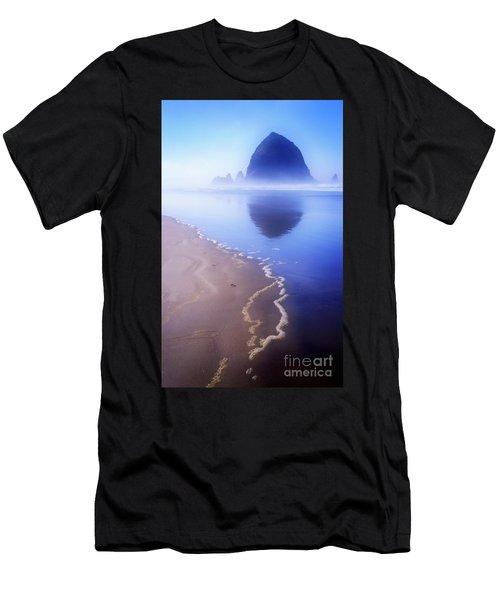 Surf Reflection Men's T-Shirt (Athletic Fit)