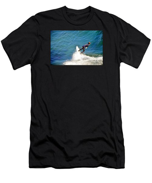Surfer, Steamer Lane, Santa Cruz, Series 19 Men's T-Shirt (Athletic Fit)