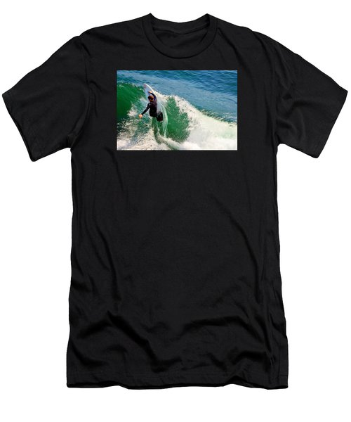 Surfer, Steamer Lane, Series 18 Men's T-Shirt (Athletic Fit)
