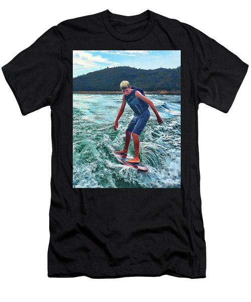 Surfer Tate Men's T-Shirt (Athletic Fit)