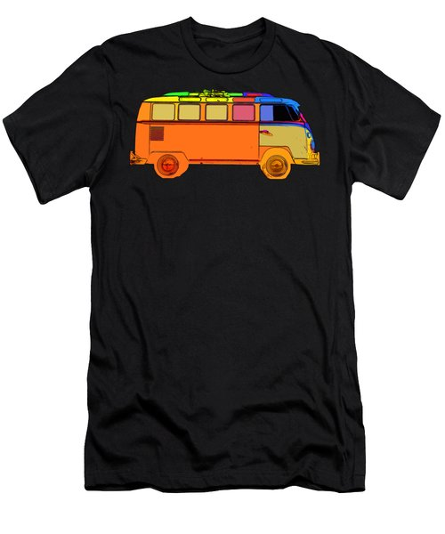 Surfer Van Transparent Men's T-Shirt (Athletic Fit)
