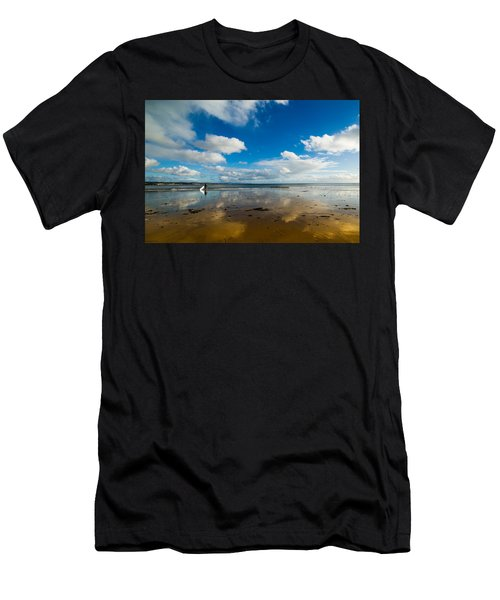 Surfing The Sky Men's T-Shirt (Athletic Fit)