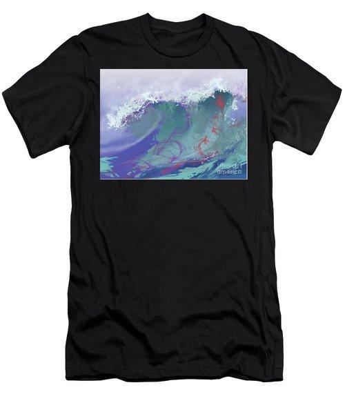 Surf's Up Men's T-Shirt (Athletic Fit)