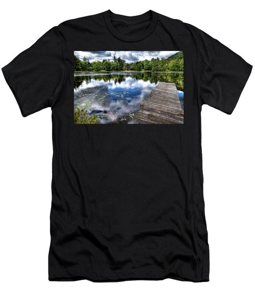 Men's T-Shirt (Athletic Fit) featuring the photograph Surprise Pond by David Patterson
