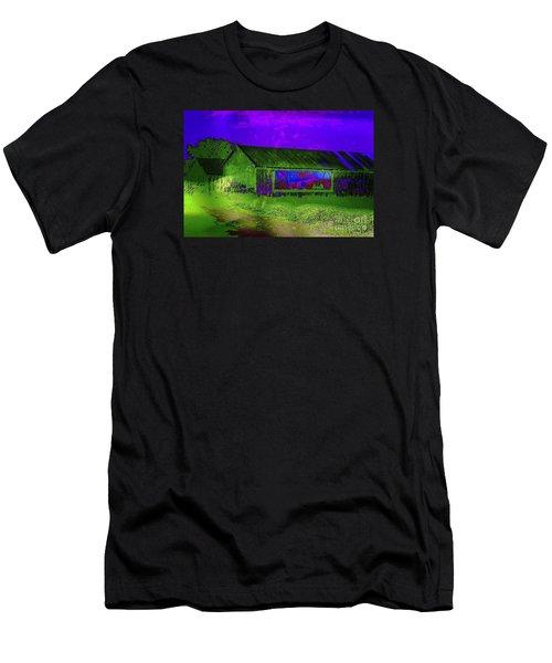 Surreal Barn Graffiti Men's T-Shirt (Athletic Fit)