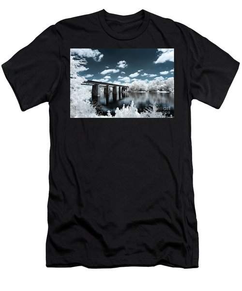 Surreal Crossing Men's T-Shirt (Athletic Fit)