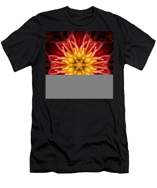 Surreal Flower No.1 Men's T-Shirt (Athletic Fit)