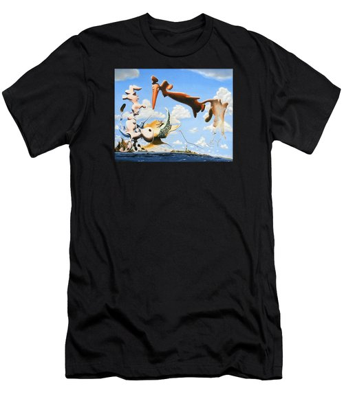 Surreal Friends Men's T-Shirt (Athletic Fit)