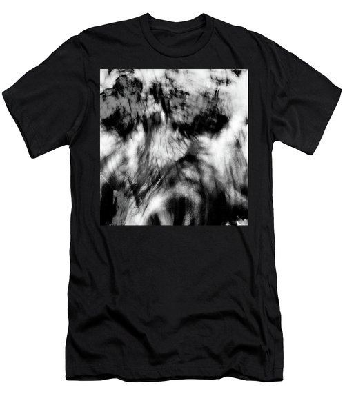 Surreal Rooster Feathers Men's T-Shirt (Slim Fit)