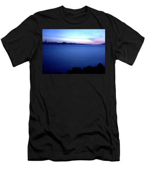Surreal San Francisco Men's T-Shirt (Athletic Fit)
