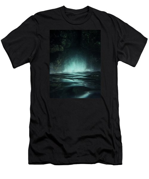 Surreal Sea Men's T-Shirt (Slim Fit) by Nicklas Gustafsson