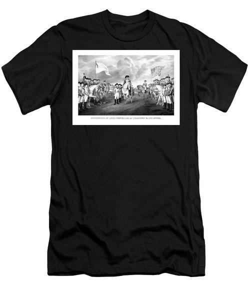 Surrender Of Lord Cornwallis At Yorktown Men's T-Shirt (Athletic Fit)