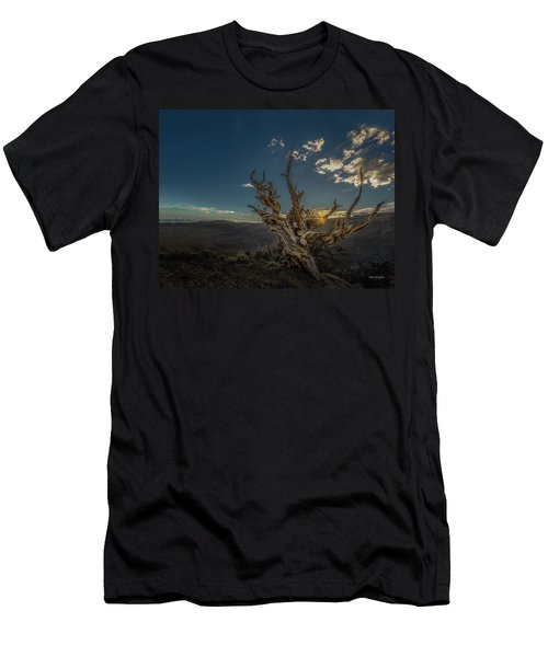 Men's T-Shirt (Athletic Fit) featuring the photograph Survivor by Tim Bryan