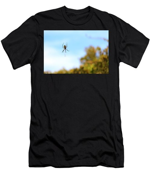 Suspended Spider Men's T-Shirt (Athletic Fit)