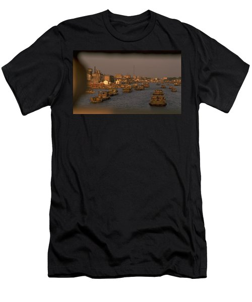 Suzhou Grand Canal Men's T-Shirt (Athletic Fit)