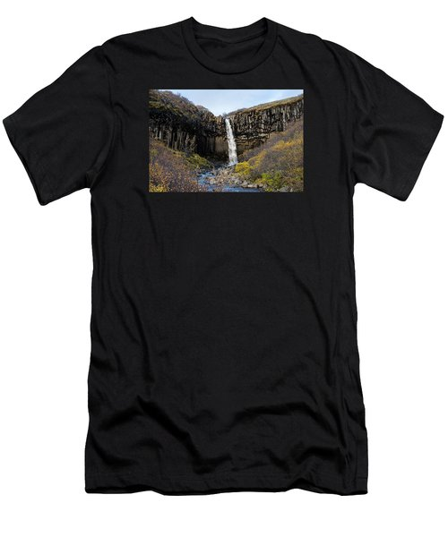 Men's T-Shirt (Athletic Fit) featuring the photograph Svartifoss by James Billings