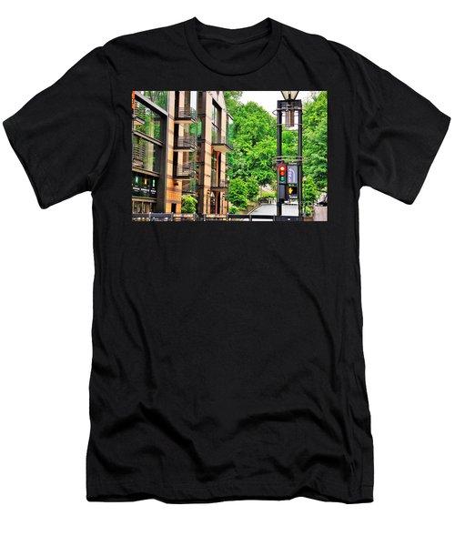Sw Broadway Men's T-Shirt (Athletic Fit)