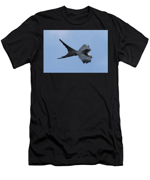 Swallow-tailed Kite #1 Men's T-Shirt (Slim Fit) by Paul Rebmann