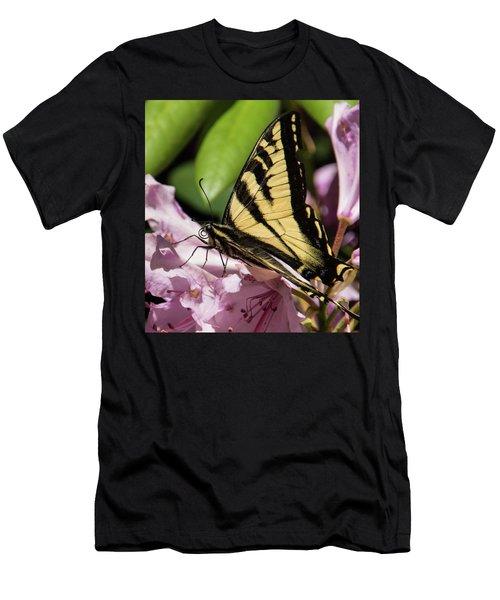 Swallowtail Butterfly Men's T-Shirt (Slim Fit) by Marilyn Wilson