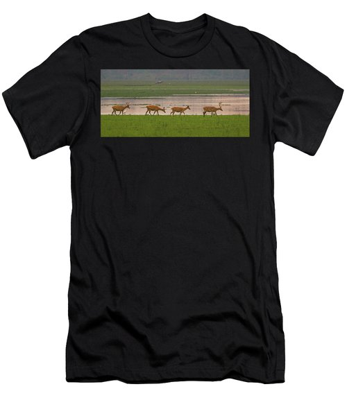 Swamp Deers Men's T-Shirt (Athletic Fit)